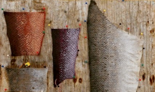 SUSTAINABLE FASHION: FISH LEATHER
