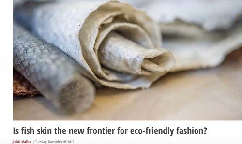 FISH SKIN NEW FRONTIER FOR ECOFRIENDLY FASHION